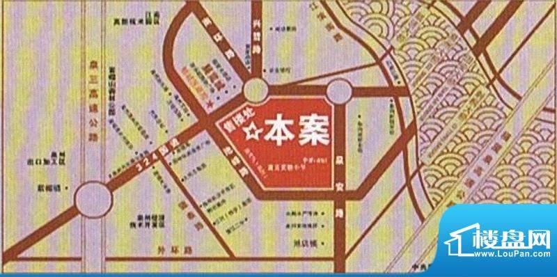 百捷中央公园交通图
