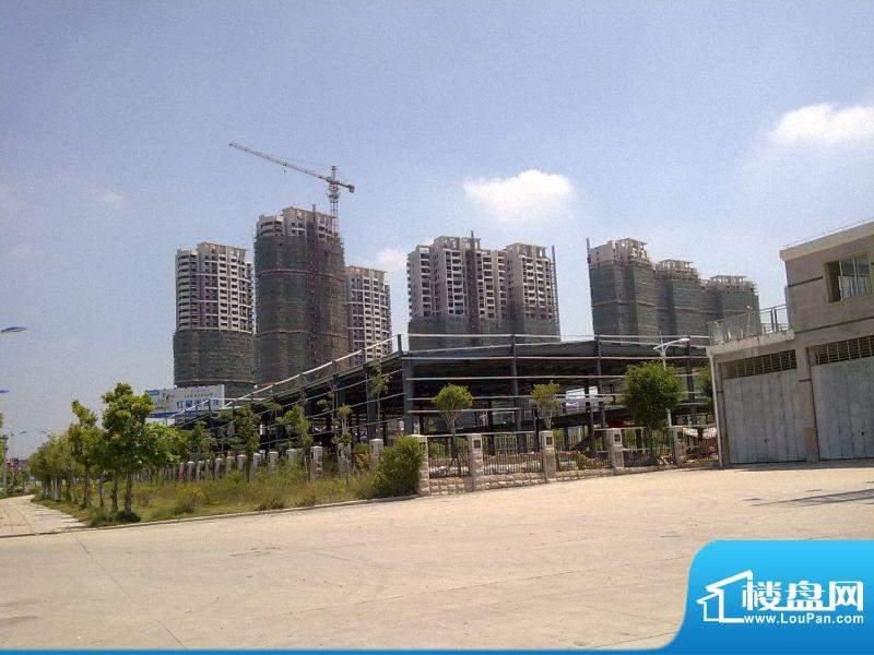 海城花苑工程进度(201109)