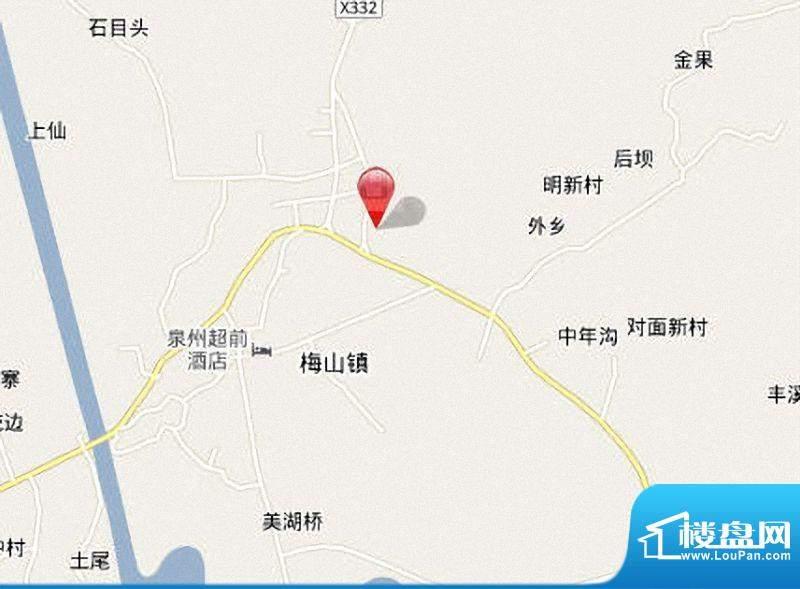 锦绣山庄交通图