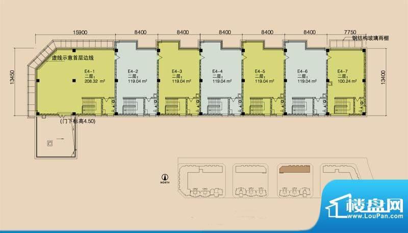 E4二层平面图