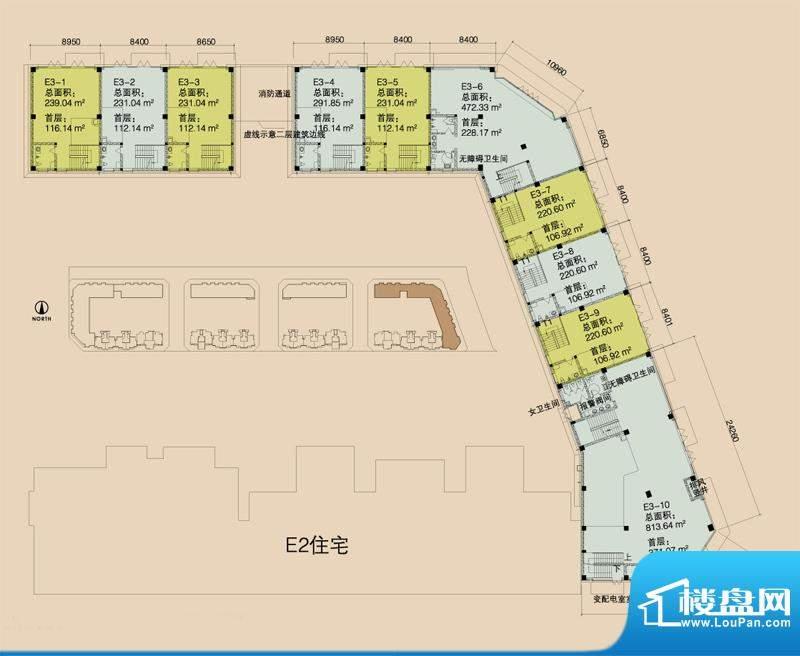 E3首层平面图