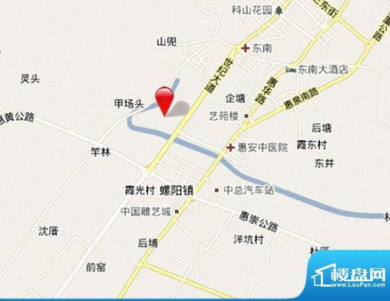 广海新景城交通图