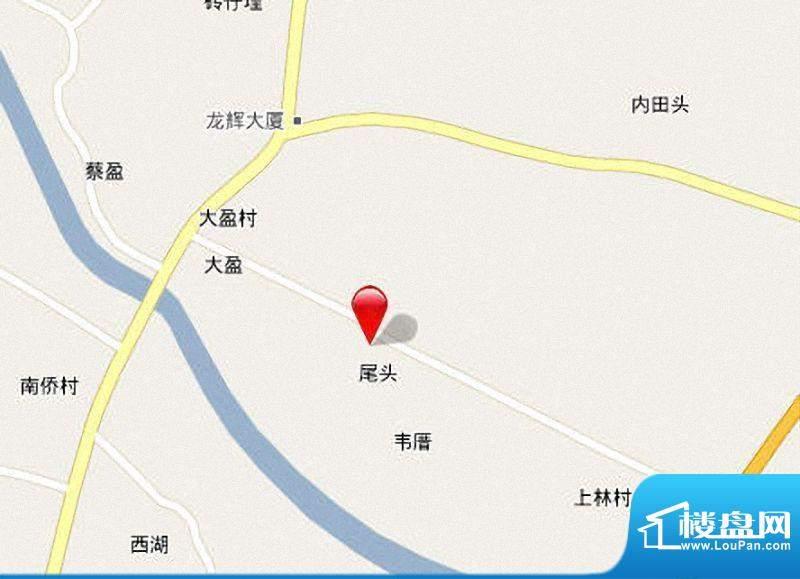 泉南国际新城区位图