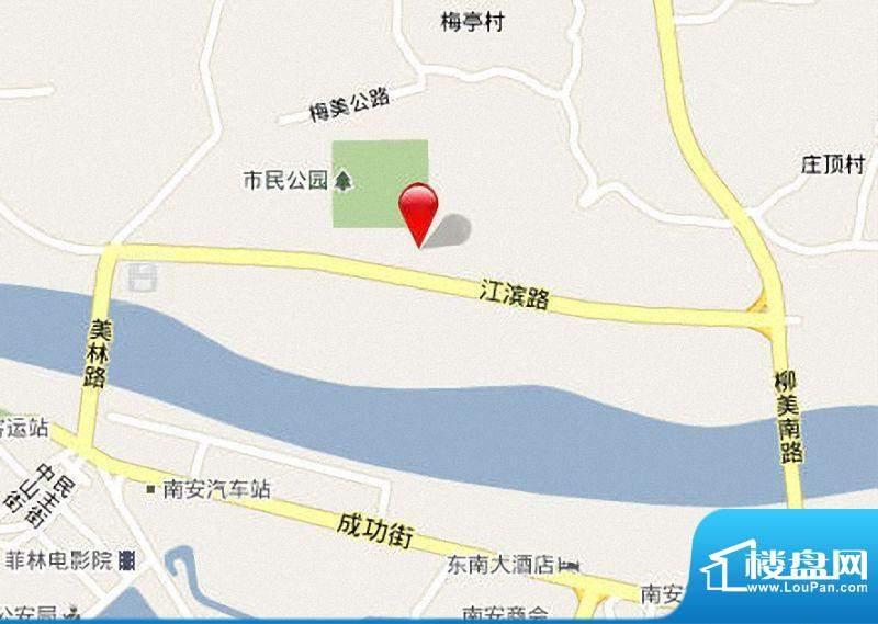 皇家滨城区位图