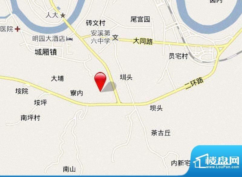 安溪宝龙城市广场交通图