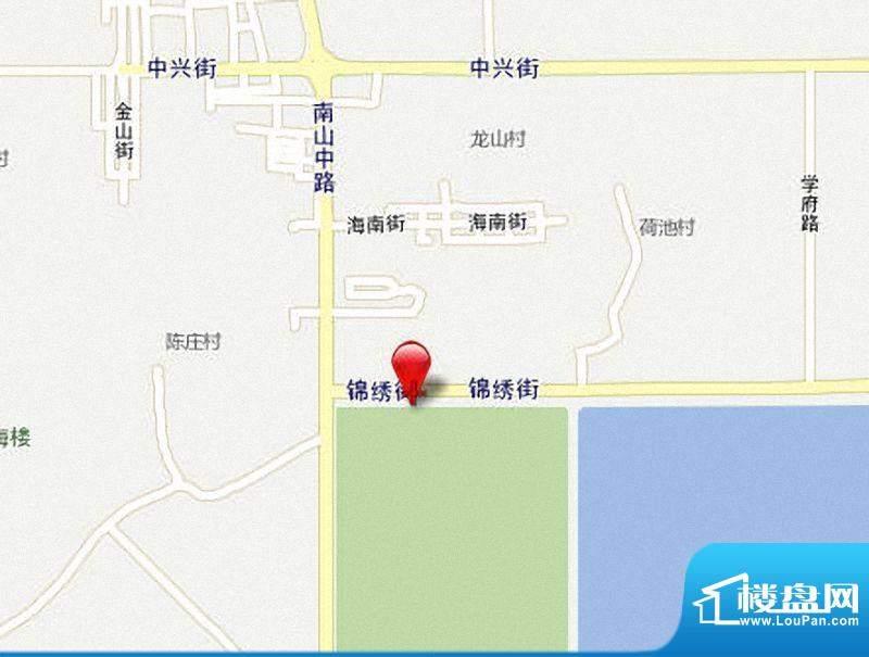 泉港万星城市广场交通图