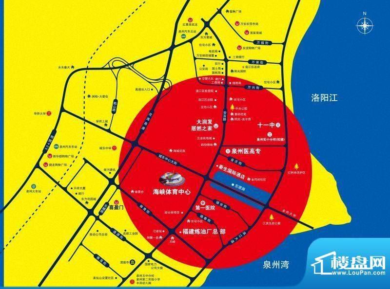 尚东国际交通图