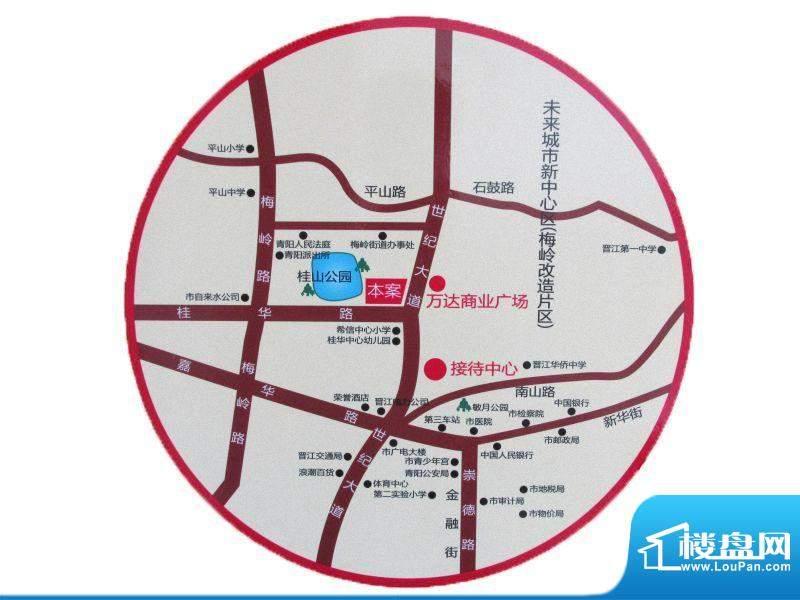 君悦湾交通图