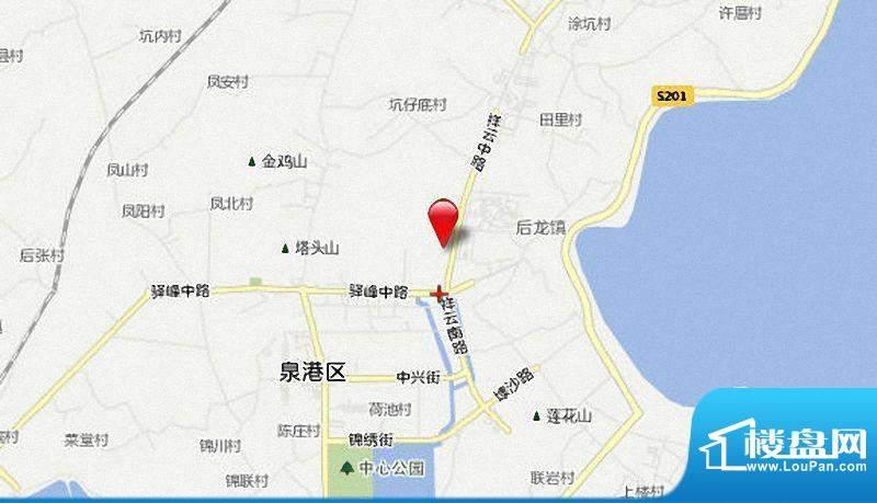 泉港东方伟业城市广场交通图