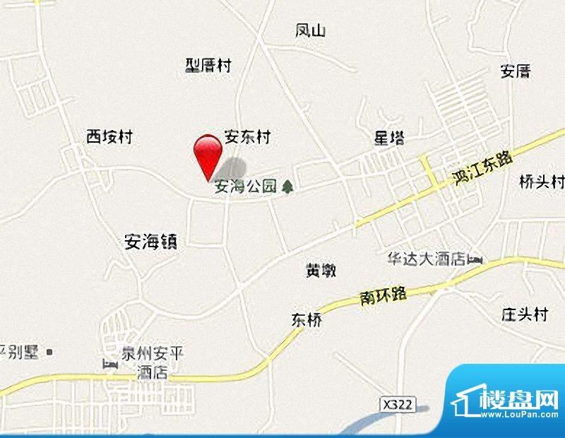 宝辉花园区位图