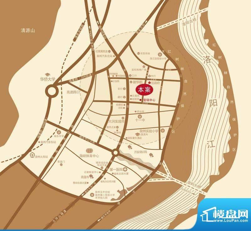 中源领第交通图