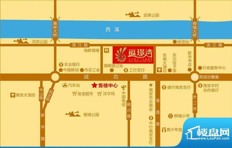 福璟湾交通图