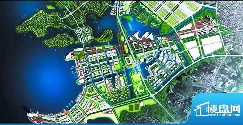 恒禾晋南水城项目鸟瞰图