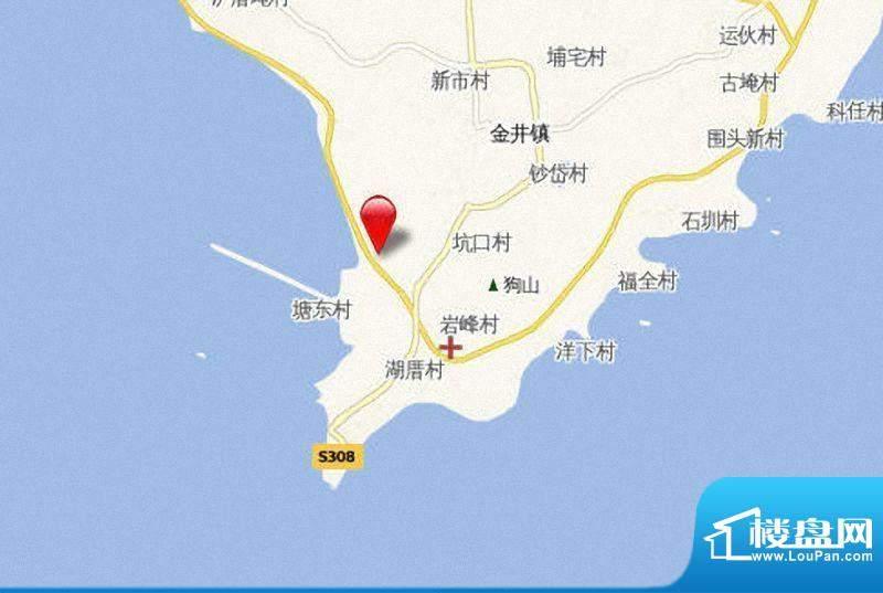 恒禾晋南水城项目区位图