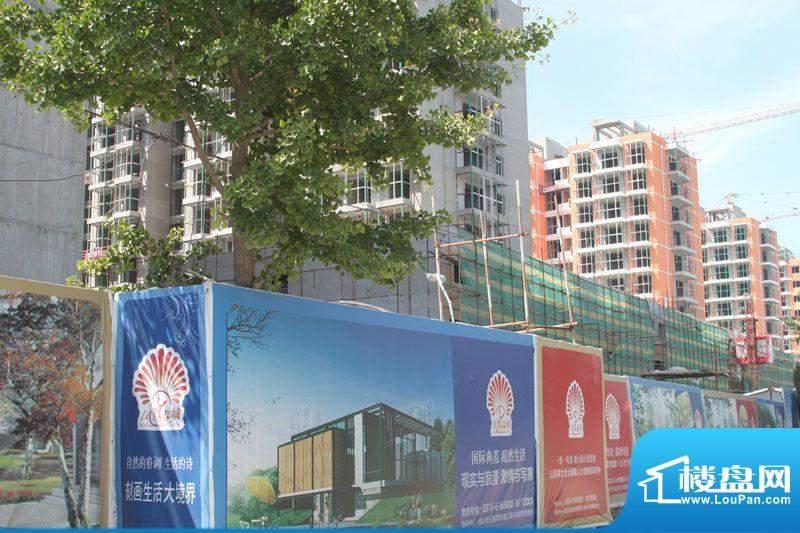 凤凰春城外景图