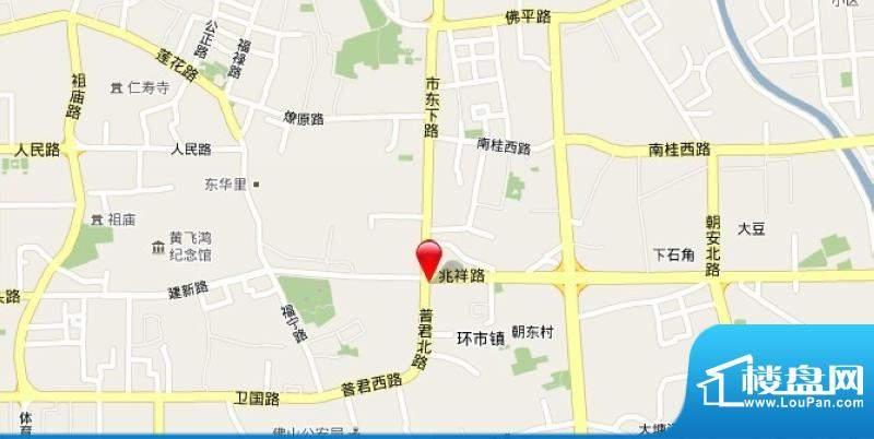 普君新城交通图