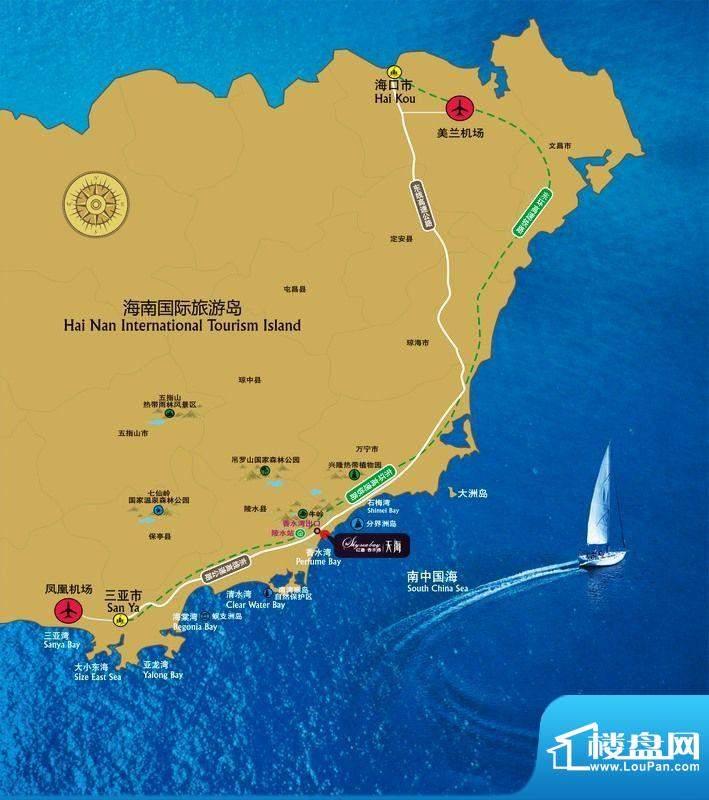 红磡香水湾·天海交通图