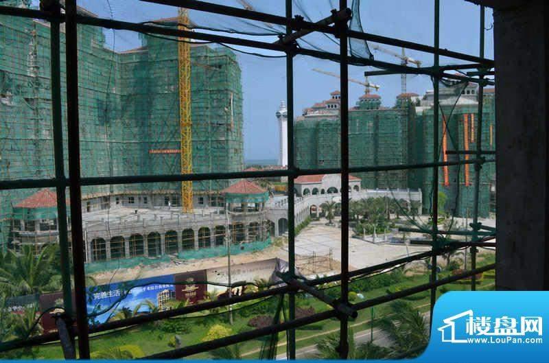 博鳌白马郡工程进度实景(2012-4)