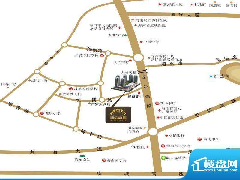 和信广场区域图