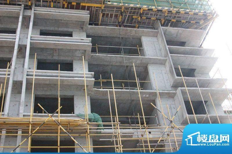 和信广场住宅楼进度实景图(20120719)