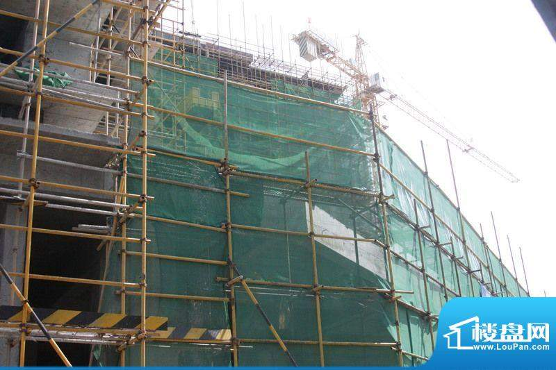 和信广场工程进度实景图(20120719)