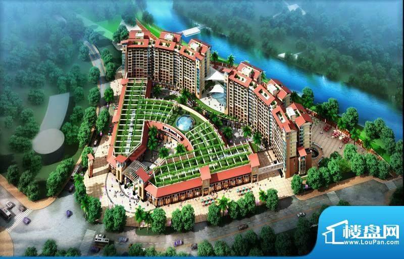 水岸新世纪生态花园度假酒店实景图