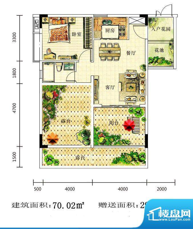 水岸新世纪生态花园面积:0.00平米