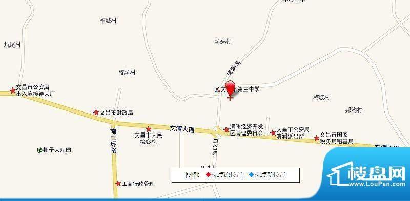 龙禧湾·一里海交通图