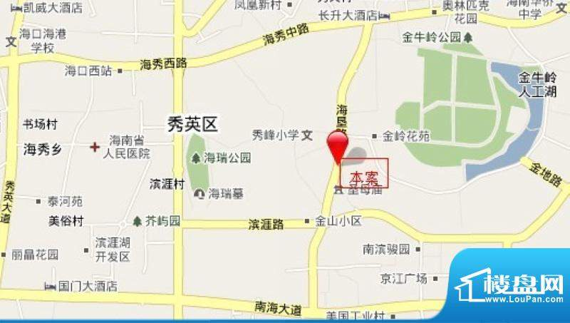 香樟林风情街交通图