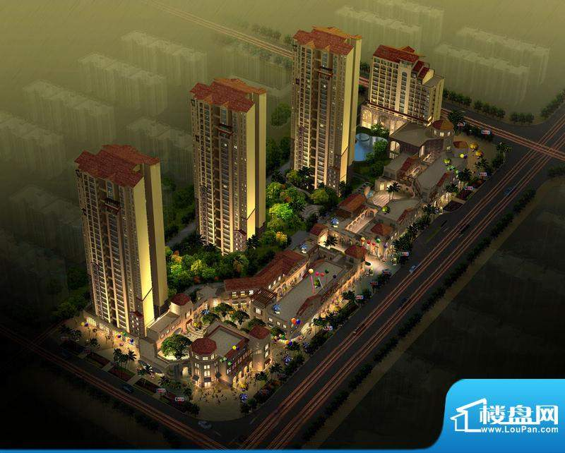 香樟林风情街实景图