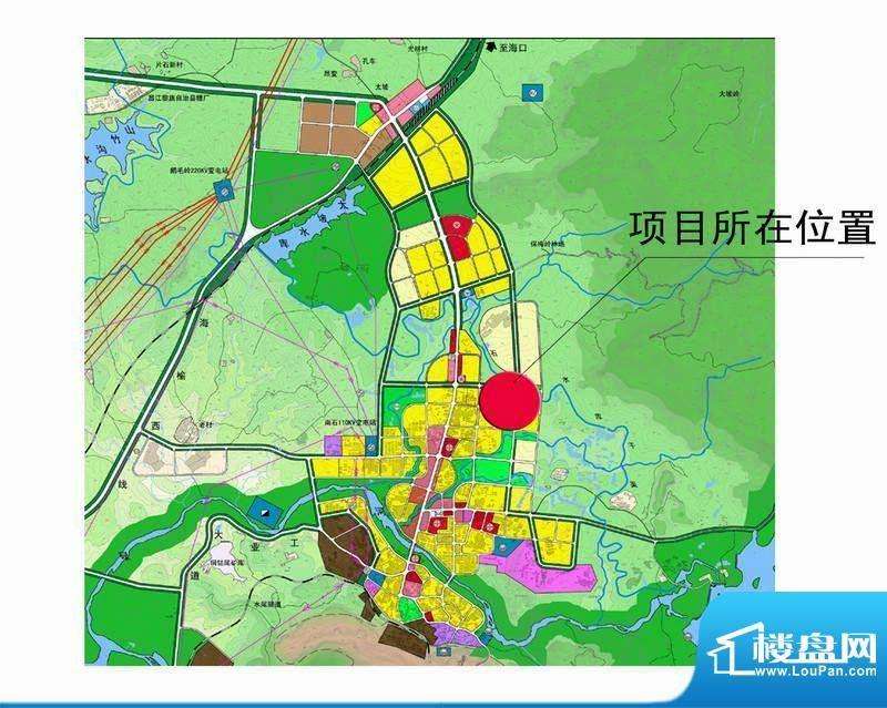 昌江福源小区交通图
