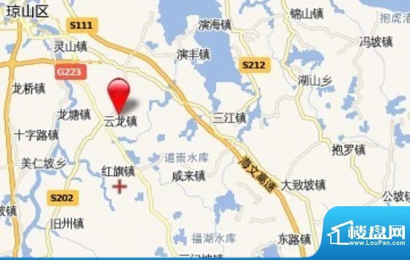 中信台达国际交通图