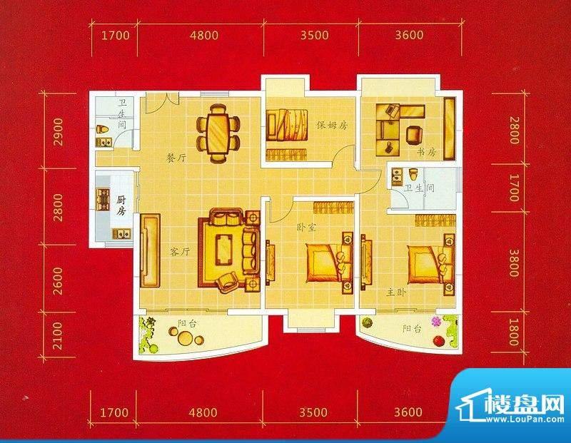 龙景商业城1幢01/08面积:139.19平米