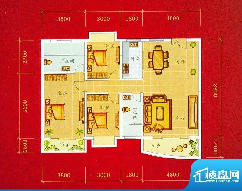 龙景商业城1幢04/05面积:138.87平米
