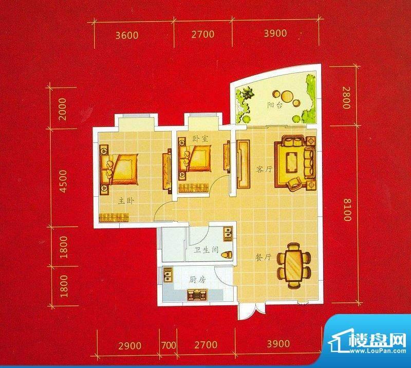 龙景商业城2幢02/03面积:92.74平米