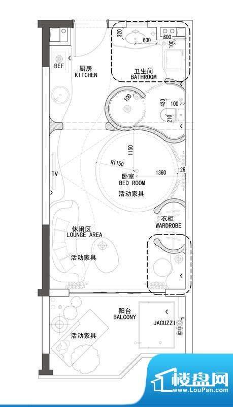 博鳌鹏欣白金湾A2-0面积:0.00平米
