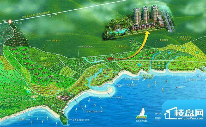 珍珠海岸花园实景图
