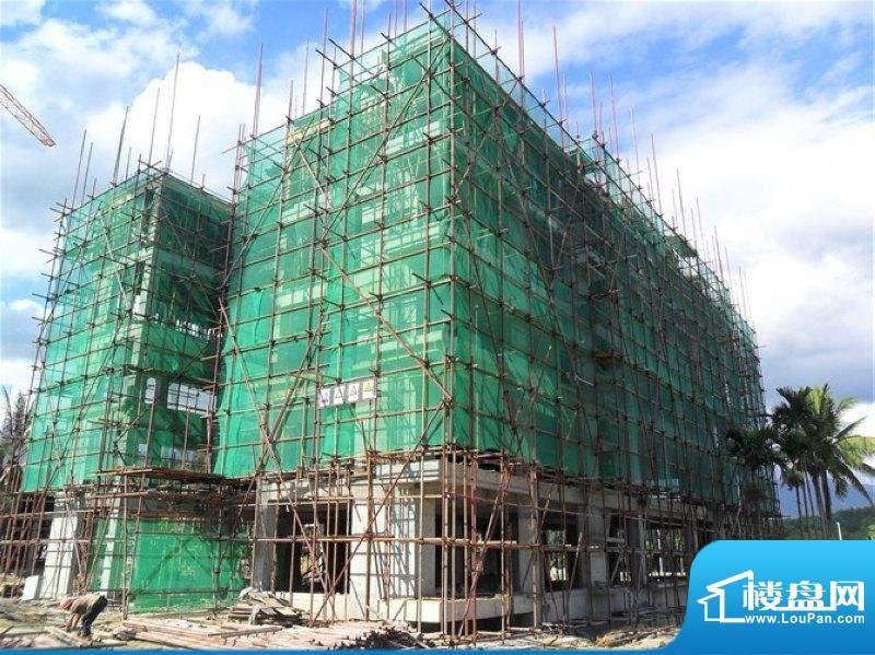 槟榔海山庄工程进度实景图(2011-07-18