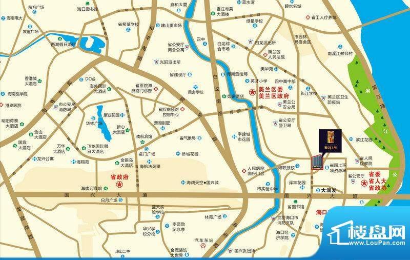 春江一号交通图