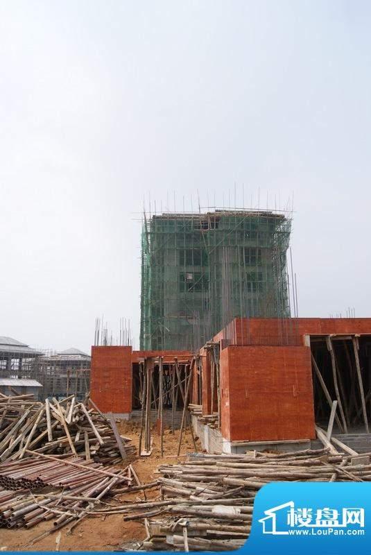 博亚龙湾洋房工程进度实景图(20101123