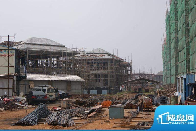 博亚龙湾小区工程进度实景图(20101123