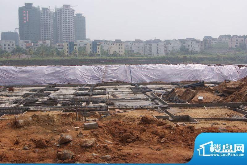 博亚龙湾会所工程进度实景图(20101123