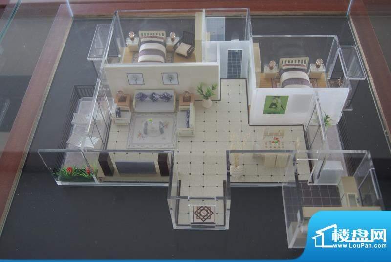 博亚龙湾B4户型模型实景图(20101123)