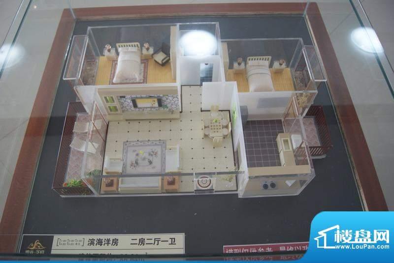 博亚龙湾滨海洋房二房户型模型(201011
