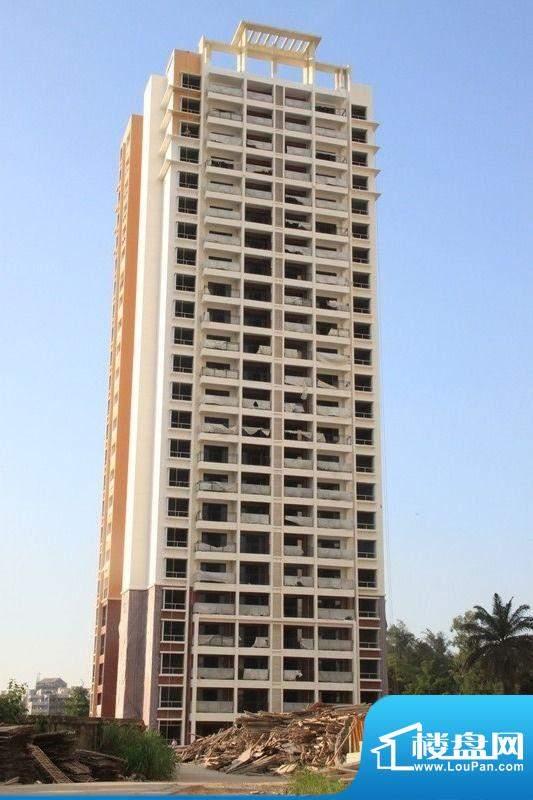 滨河华庭A栋工程实景图(20110707)