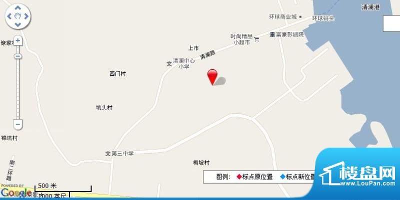 华源清苑交通图
