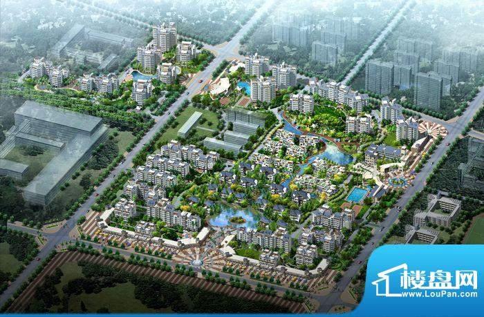 城市海岸三期鸟瞰图
