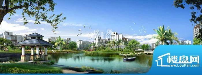 城市海岸三期园林效果图