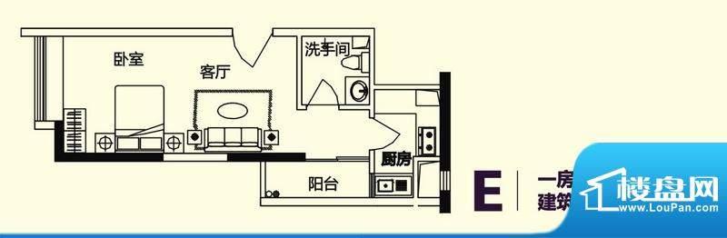 义方家园商务公寓标面积:41.10平米