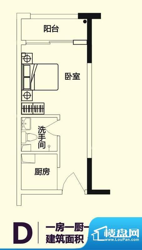 义方家园商务公寓标面积:29.45平米